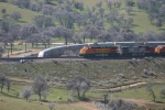 BNSF climbing the loop